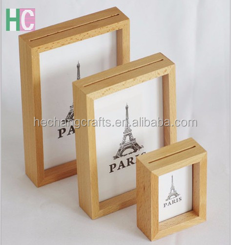Fashion beautiful picture frame,wedding wood photo frame