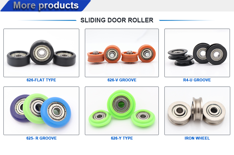 626 zz small roller wheel sliding doors polyurethane skateboard wheels