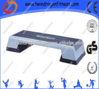 Fitness equipment aerobic adjustable Anti Slip aerobic step board,aerobic step bench