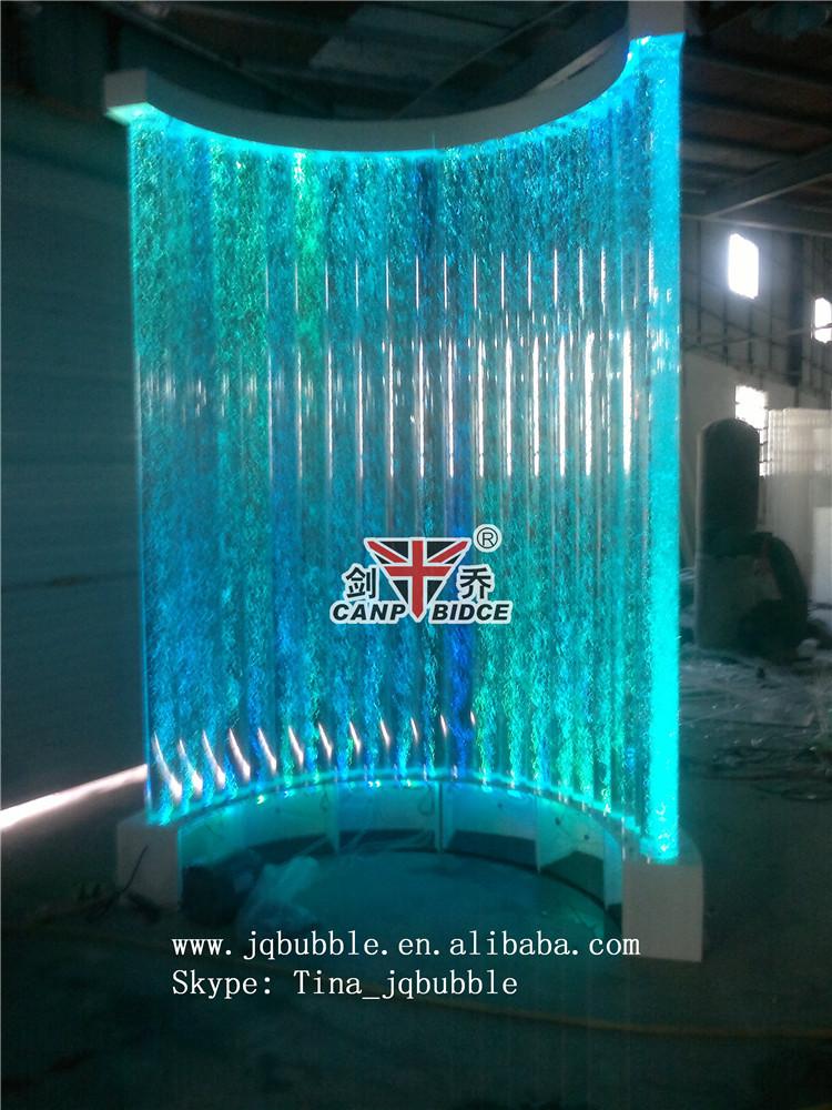 Acrylic Wall Bubble Column Aquarium Backgrounds Coffee Bar Design ...