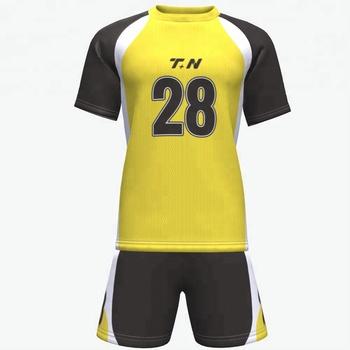Wholesale Club 100% Polyester Mesh T-shirt Team Design Football Kits Soccer  Custom Sublimated d165ea4d5
