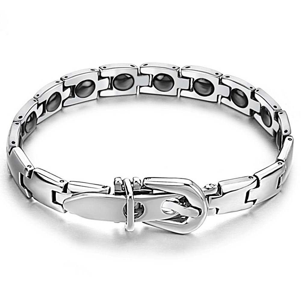 Silver men personalized animal bracelet beads design GS977