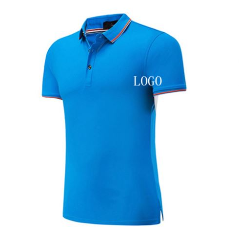 Factory Knitted Promotional Gift 100Gsm Polo Shirt Pima Cotton