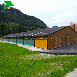 steel structure building prefab chicken house for poultry farm prefabricated steel warehouse