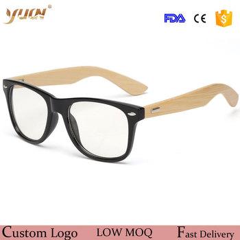 New Fashion 2017 Glasses Frame Bamboo Arms Fashion Eyeglasses - Buy ...