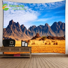 Quality-Assured New Fashion 100% Polyester Tapestry Mountain Wall Hangings 91*71 inch