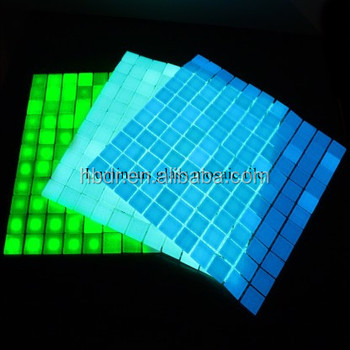 Glow In The Dark Luminous Green Solid Glass Swimming Pool