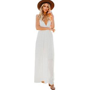 1679f6c7fa9 Gauze Plus Size Beach Wedding Dresses