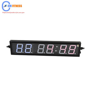 Manufacturers direct accurate timing training electronic meter/Gym six LED timer