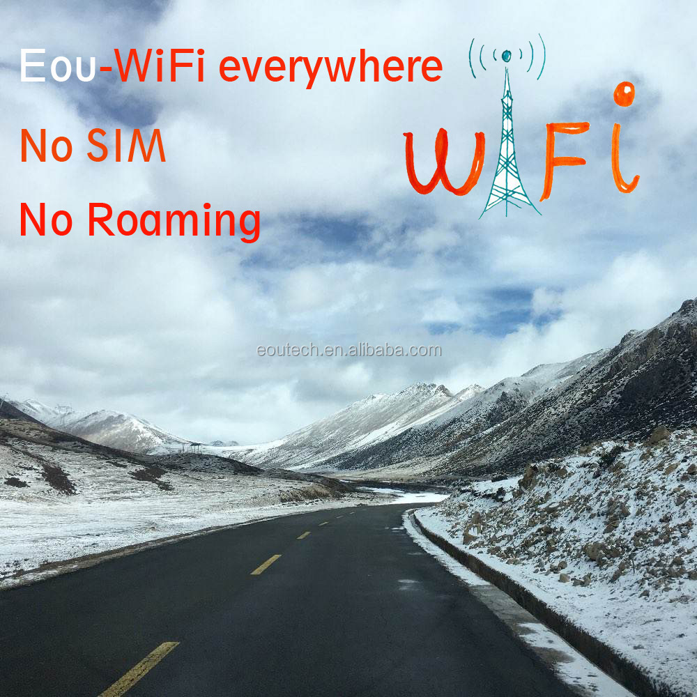 4G portable WiFi, mobile WiFi solution cloud sim solution provider