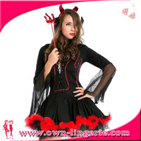 2014 new arrival Sexy wicked Queen witch fancy dress costume