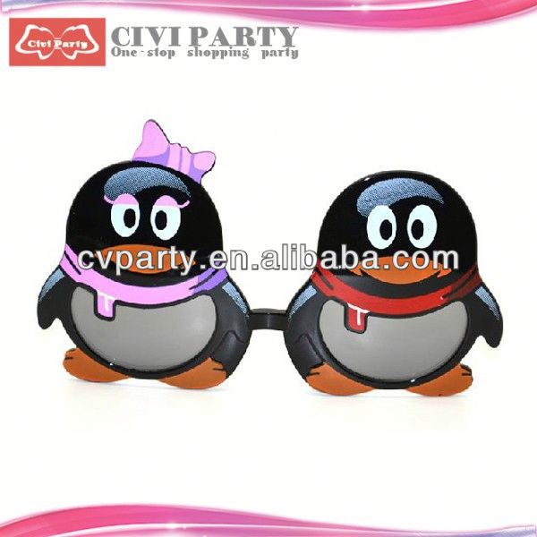 party popper and paper party mask for celebration painted ceramic masks