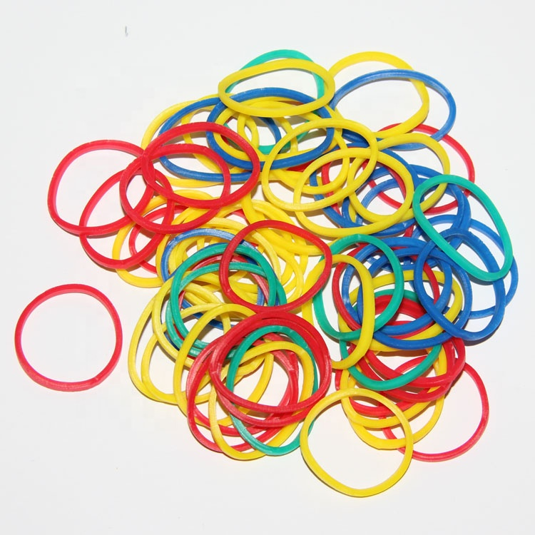 Colori assortiti rubber band per i soldi