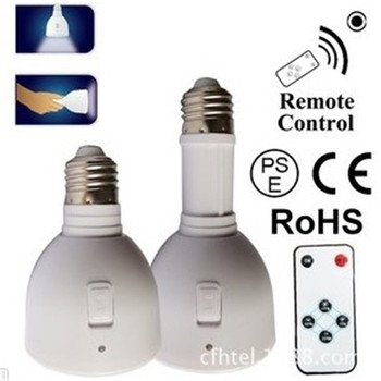 2016Hot sell 5w Rechargeable Emergency led bulb with battery built-in