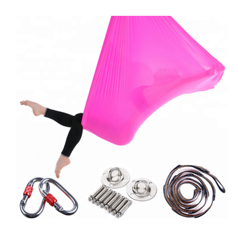 Customized  Aerial Flying Yoga Hammock Anti-gravity Yoga Swing hammock