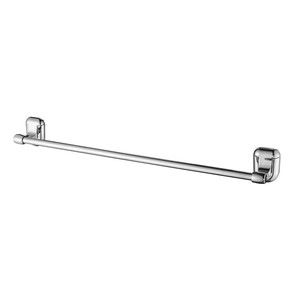 Chrome Plated Bath Bathroom Wall Mounted Plastic Towel Bar Rack