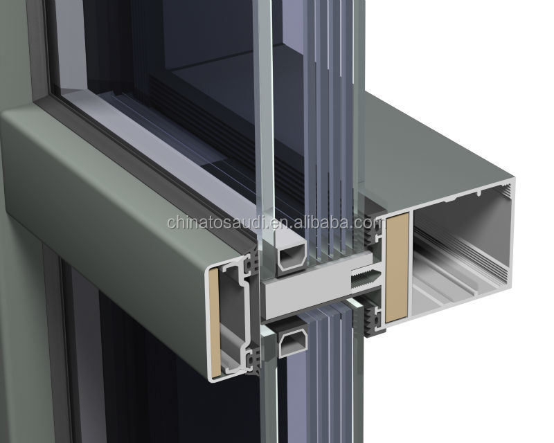 Easy And Quickly Installation Nice Price Unitized Glass Curtain Wall Buy Glass Curtain Wall