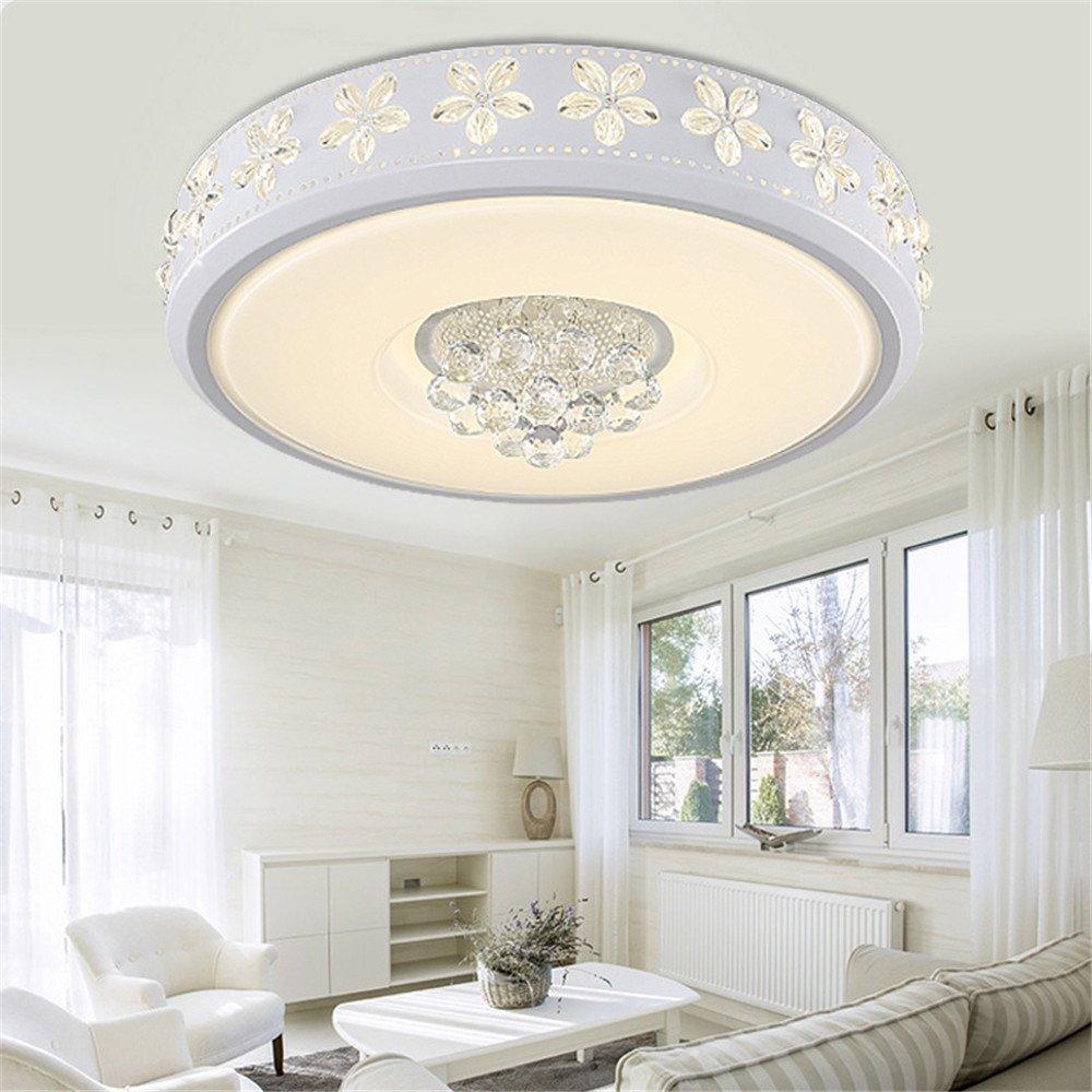 Modern LED Pendant Flush Mount Ceiling Fixtures Light LED Crystal Acrylic Ceiling Light Modern Simple Lamp Ceiling Lamps Ceiling Light, 500mm