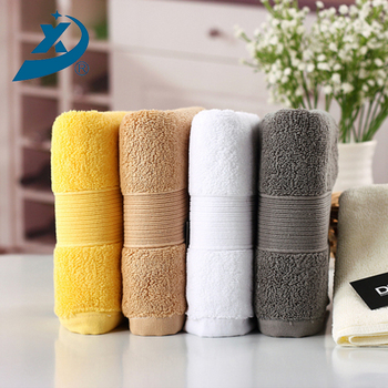 100 Cotton 16s Long Terry Screw Hotel Home Solid Color Bath Towel