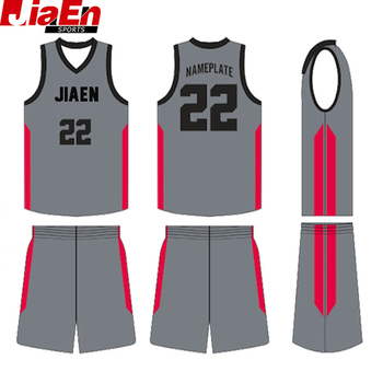 520cfbd7948 basketball jersey names and logos can be customized grey basketball jersey  uniform design