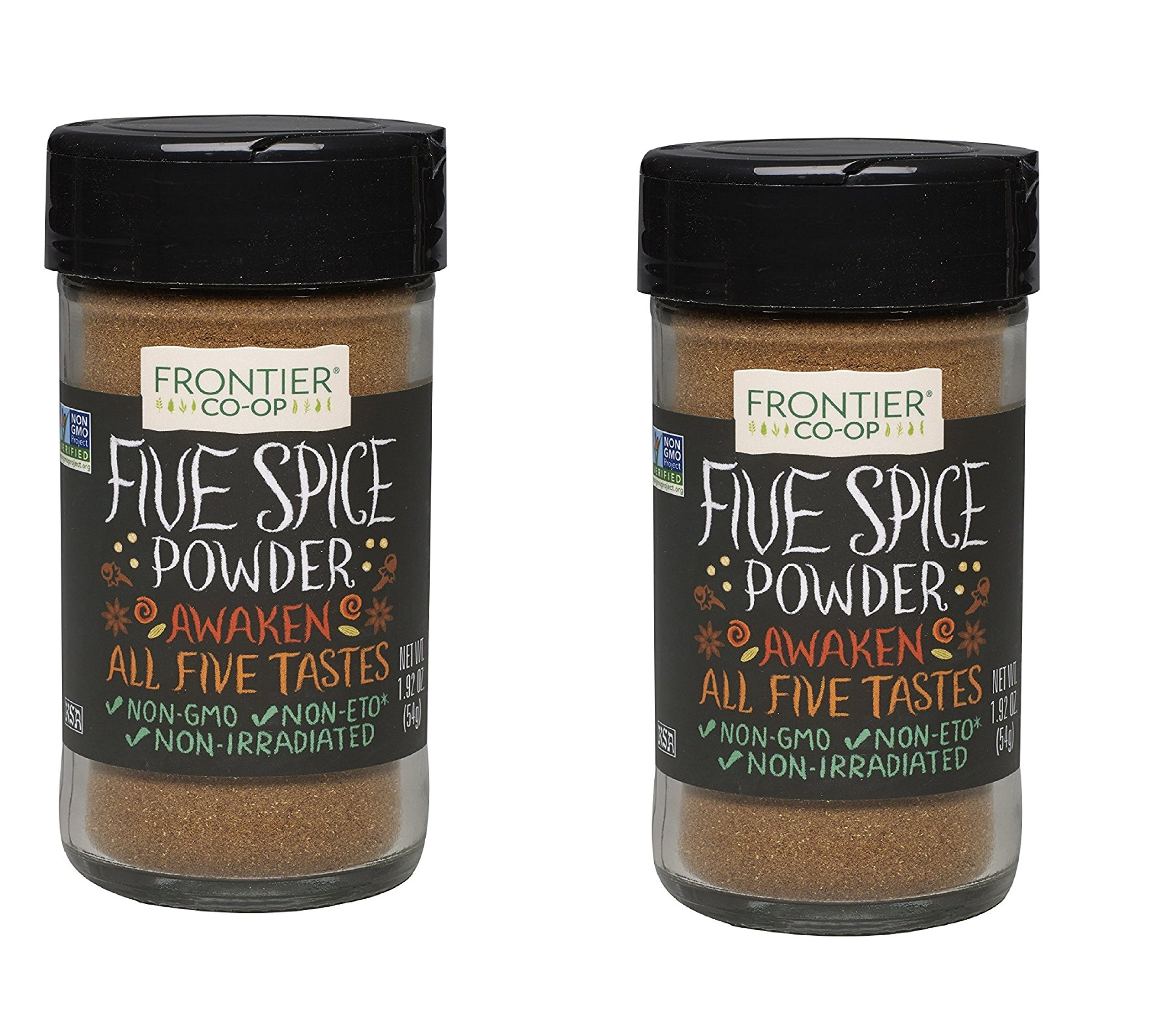 Frontier Five Spice Powder, 1.92-Ounce (2 Bottles)