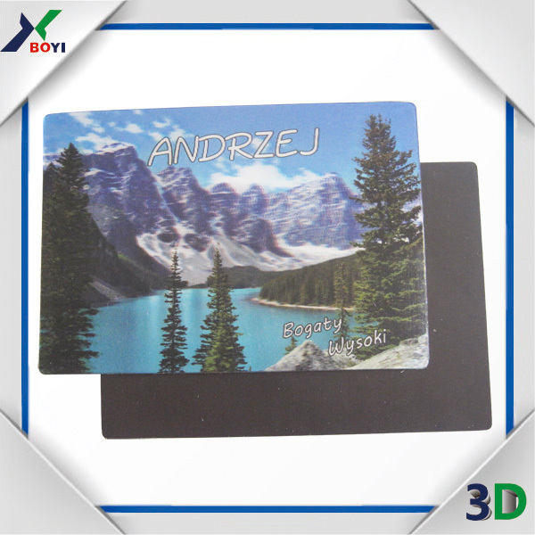Novelty Tourist Souvenir Factory 3D Lenticular Fridge Magnet