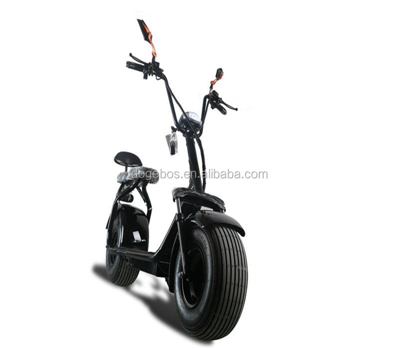 Direct Buy China scooter 2017 Style Electric citycoco/ scooter electric eec with 1600W