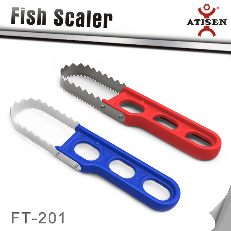 Fish Scale Scraper Newness Stainless Steel Fish Scale Scraper Remover With  Comfortable Handle For Fast Kitchen Food Prep - Buy Fish Scale Scraper