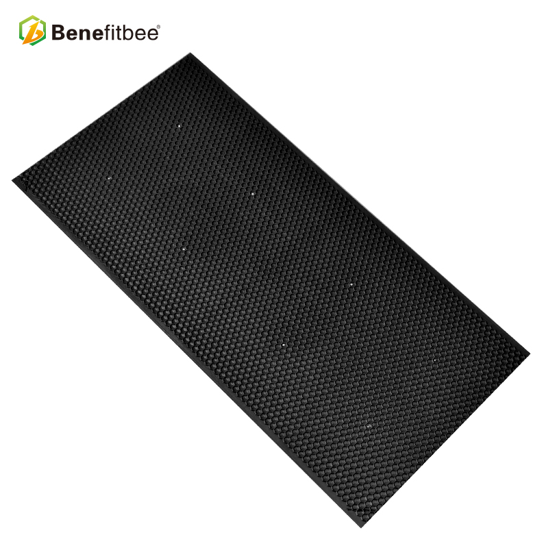 Beekeeping equipment tools factory directly supply black plastic bee hive frames foundation for bee keeping hive