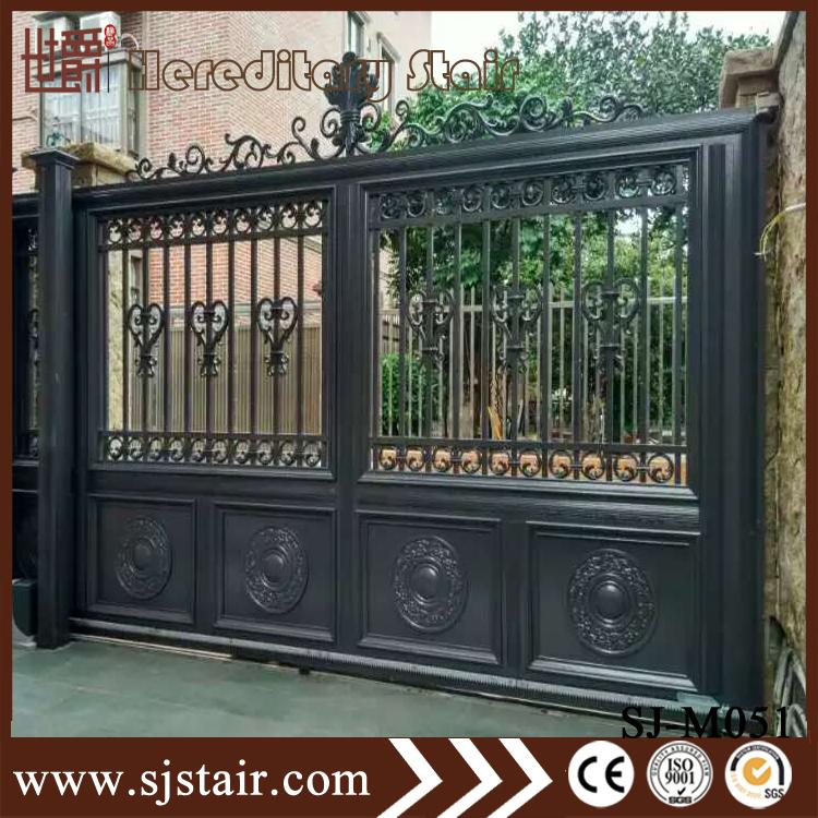 Indian Beautiful Modern House Entrance Main Aluminum Gate