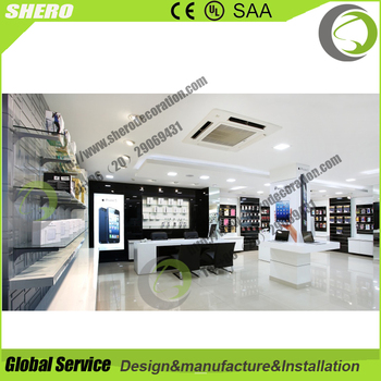 odmoem mobile shop decoration ideas in furniture display