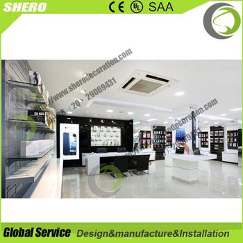 ODMu0026OEM Mobile Shop Decoration Ideas In Furniture Display