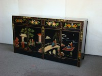 Chinese antique furniture used wholesale wooden chest of drawers