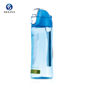 plastic popular in South eastern Asia cool water bottle colorful bottle