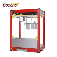 EB-06A Luxury Top 8Oz Electric China Factory Automatic Commercial Popcorn Vending Red Industrial Automat Popcorn Machine Price