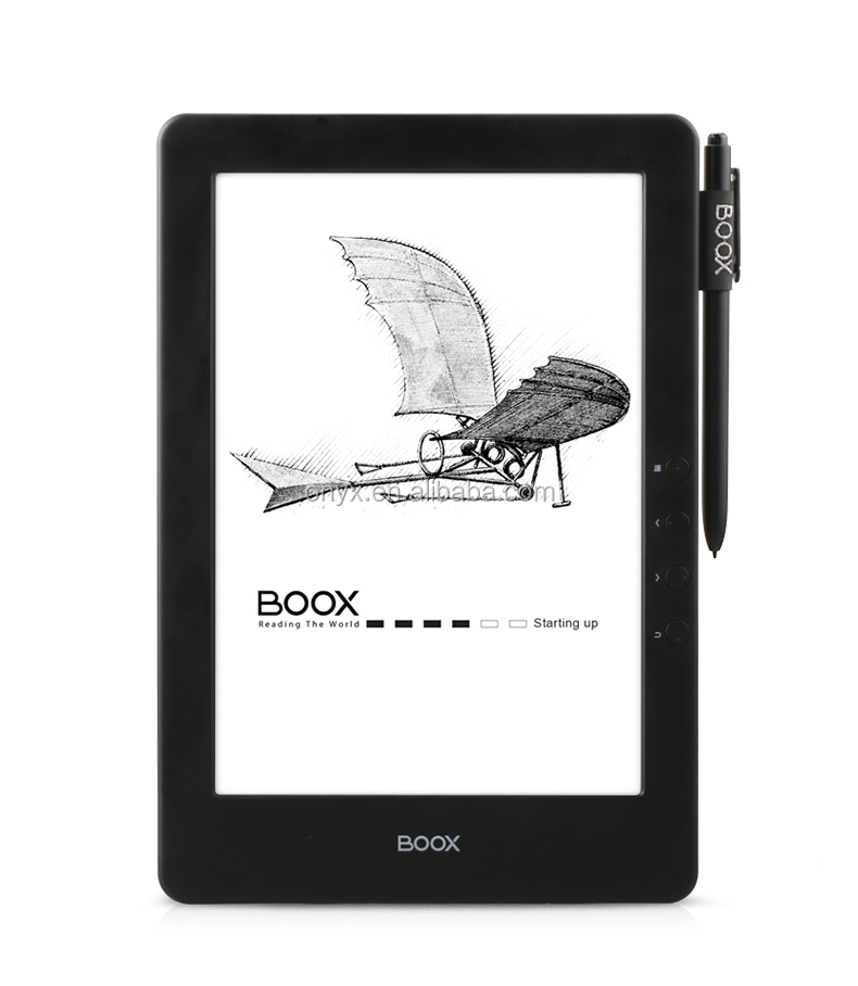 Capacitive sentuh lampu depan 9.7 inch ebook reader