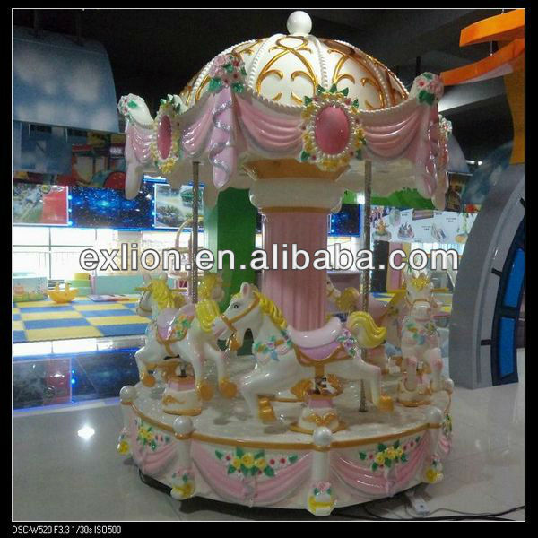 attractive kiddie games for sale mini carousel ride