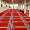 wool roll carpet for mosque prayer room G01, Luxury wool roll carpet for mosque prayer room