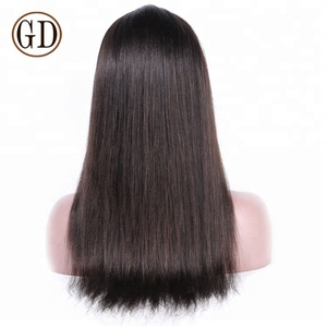 top quality 100 brazilian remy human hair full lace wig golden perfect
