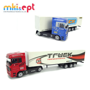 Hot selling mini promotional toy container truck for sale