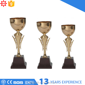 Metal trophy customized award trophy cup