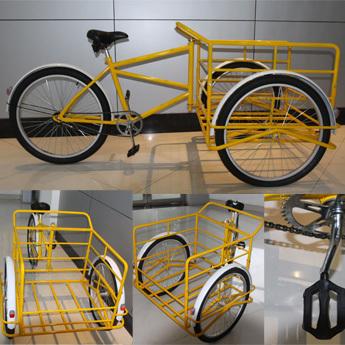 Industrial 3 Wheel Bicycles Tricycle Heavy Duty Trike