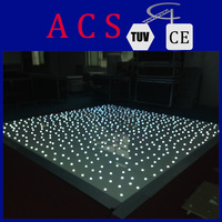 cheap Rgb color led dance floor/Portable interactive make led dance floor for sale/New design professional dancing floor