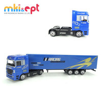 Hot sale 1 87 promotional miniature container truck model for sale