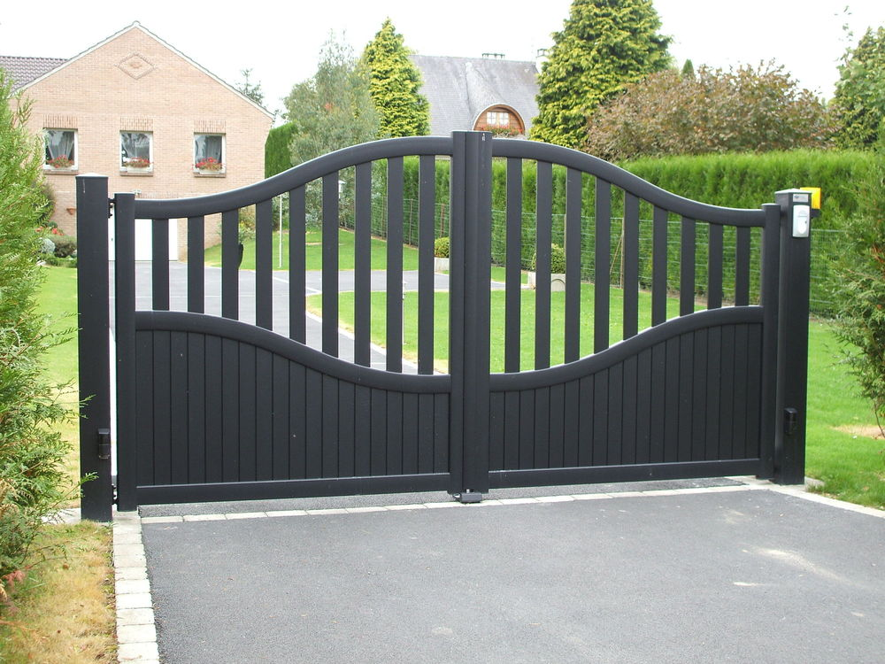 Cheap Aluminum Square Pipe Gate Designs