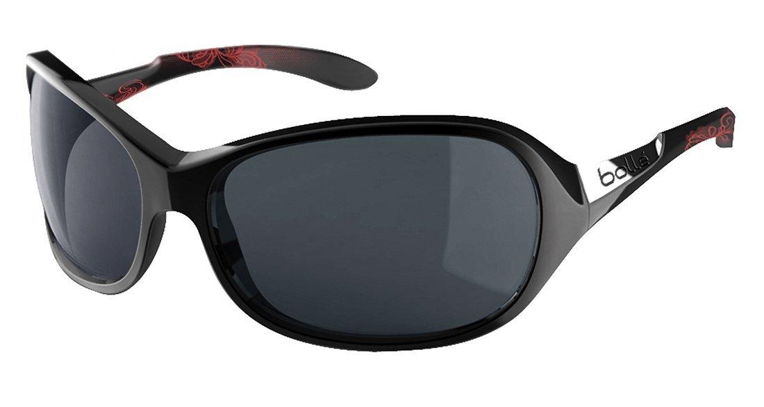 d2c191eabd4e Get Quotations · Bolle Women's Grace Sunglasses, Polarized TNS AF, Shiny  Black/Coral