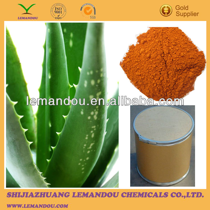 Good quality Aloe Vera Extract, 1,8-Dihydroxy-3-(hydroxymethyl)anthraquinone, Aloeemodin