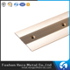 China cheap pvc anti-slip rubber strips floor aluminum tile trim with low price