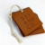 Factory price fashion customized logo leather hang tag
