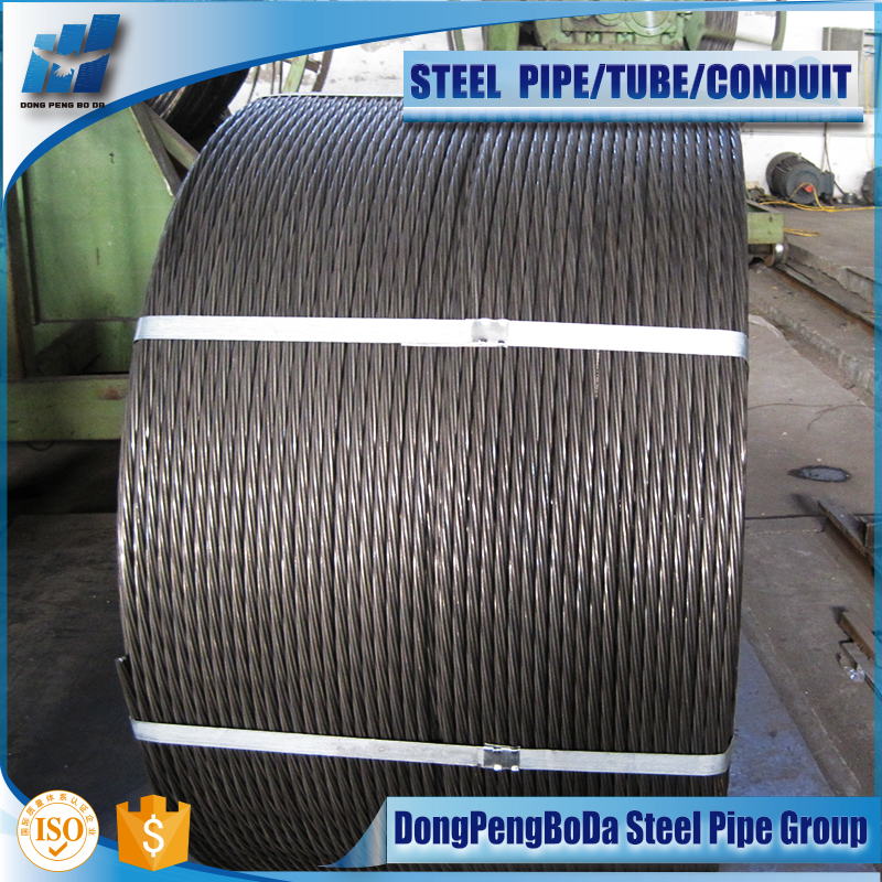 pc galvanized strand steel strand wire metal building material